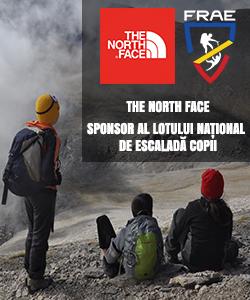 The North Face sponsor FRAE